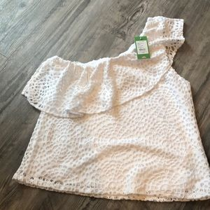 NWTS LILLY PULITZER SEA URCHIN RESORT WHITE XL